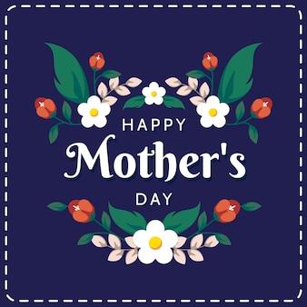 Szczęśliwy dzień matki tło
