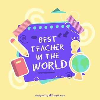 Szczęśliwy dzień nauczyciela, elementy szkoły