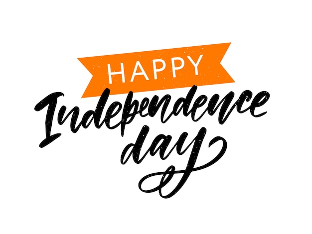 Szczęśliwy dzień niepodległości indii, wektor