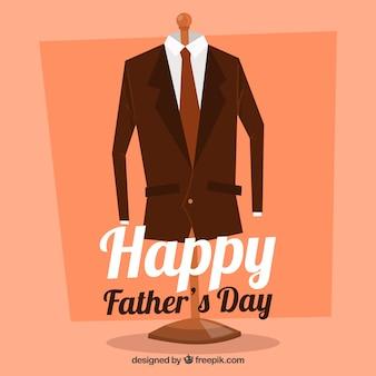 Szczęśliwy dzień ojca tło z koloru