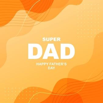 Szczęśliwy dzień ojca w mediach społecznościowych