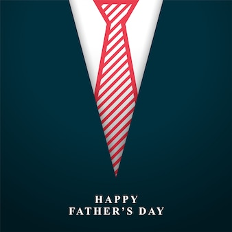 Szczęśliwy dzień ojca życzy tło z krawatem