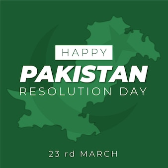 Szczęśliwy dzień pakistanu wyciągnąć rękę