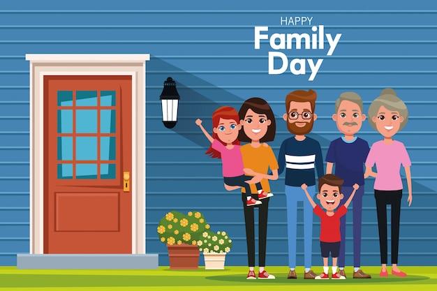 Szczęśliwy dzień rodziny