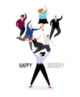 Szczęśliwy dzień szefa
