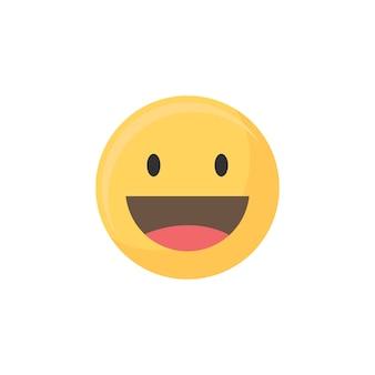 Szczęśliwy emoji