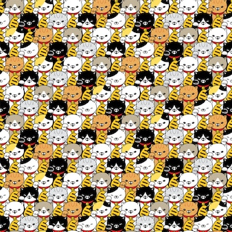 Szczęśliwy kotek maneki neko postać z kreskówki