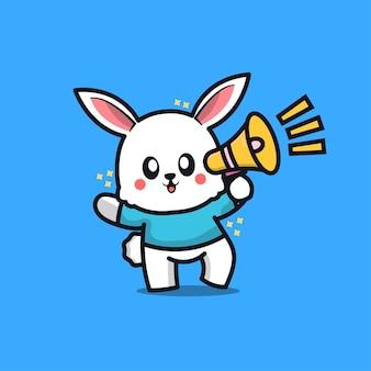 Szczęśliwy króliczek wielkanocny