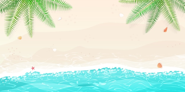 Szczęśliwy letni wypoczynek na plaży