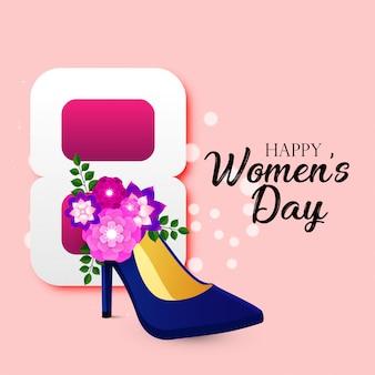 Szczęśliwy międzynarodowy dzień kobiet 8 marca