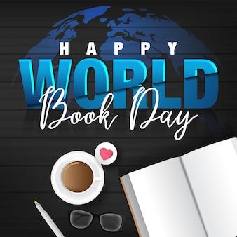 Szczęśliwy światowy dzień książki