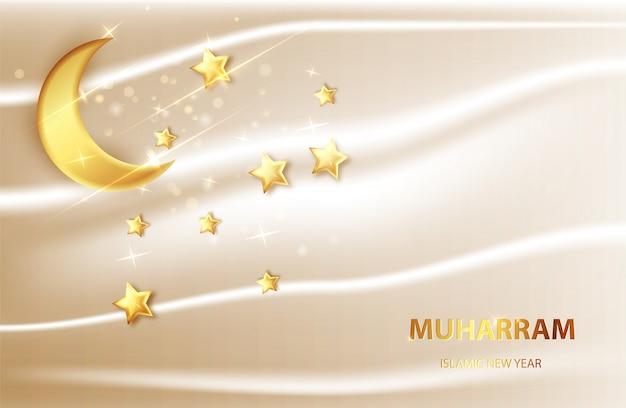 Szczęśliwy tło muharram