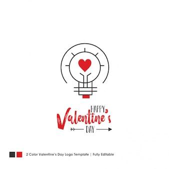 Szczęśliwy valentine's day card. wektor napis tło
