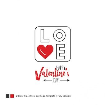 Szczęśliwy valentine's day card