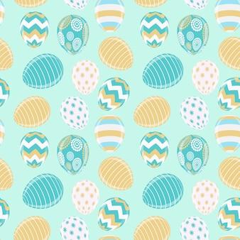 Szczęśliwy wielkanocny śliczny z jajko wzorem