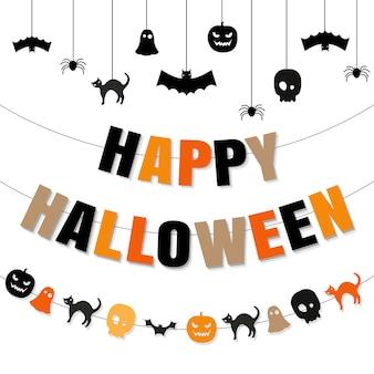 Szczęśliwy zestaw halloween