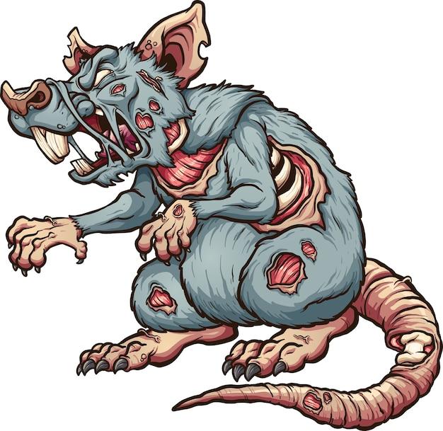 Szczur zombie