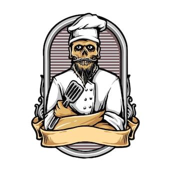 Szef kuchni czaszki