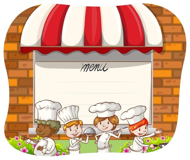 Szef kuchni restauracji