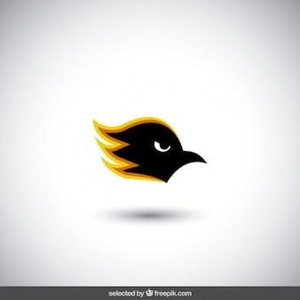 Szef logo zły ptak
