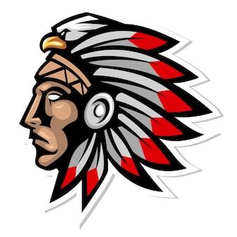 Szef plemienia indian cherokee