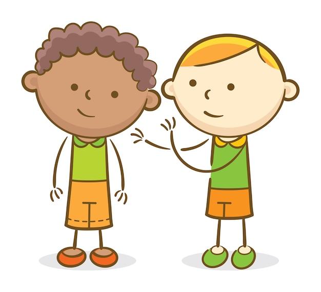 Szepcząc dzieciom