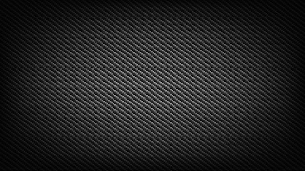 Szerokie tło ekranu z włókna węglowego. tło technologiczne i naukowe.