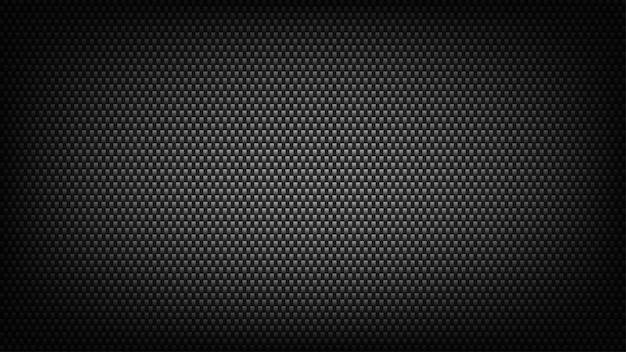 Szerokie tło ekranu z włókna węglowego