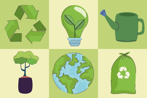 Sześć ikon ekologii