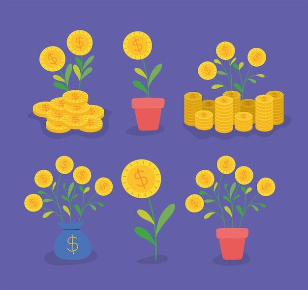 Sześć pozycji inwestycyjnych