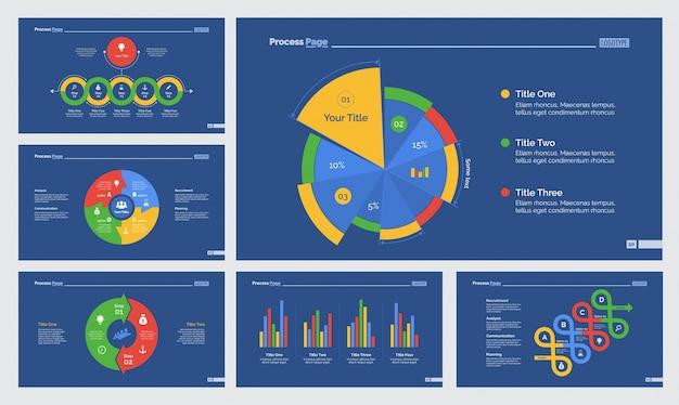 Sześć szablonów szablonów statystycznych