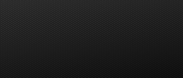 Sześciokątne cienkie techno czarne maswerki futurystyczne rzędy kwadratów w abstrakcyjnym stylu z minimalistycznym węglem