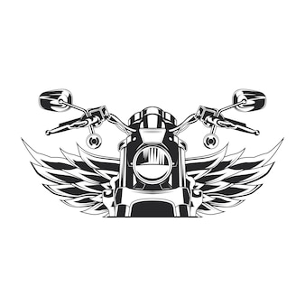 Szkic ilustracja moto