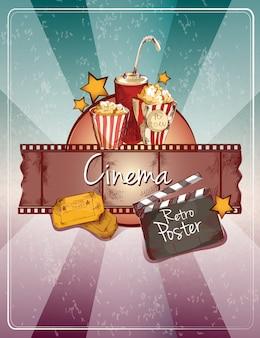 Szkic plakatu kinowego