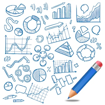 Szkic wykresów i diagramów