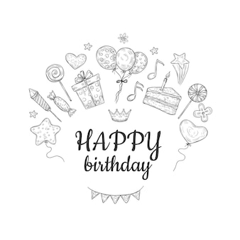 Szkic z okazji urodzin