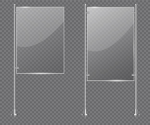 Szklana podstawka pod wyświetlacz