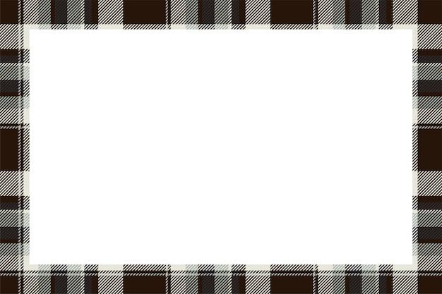 Szkocka granica wzór w stylu retro