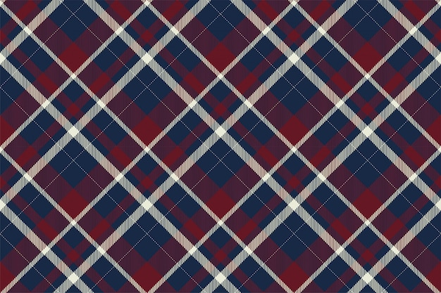 Szkocka krata szkocka bez szwu wzór. tkanina retro. vintage kwadratowy geometryczny.