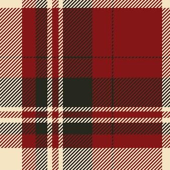 Szkocka krata szkocka bez szwu wzór.
