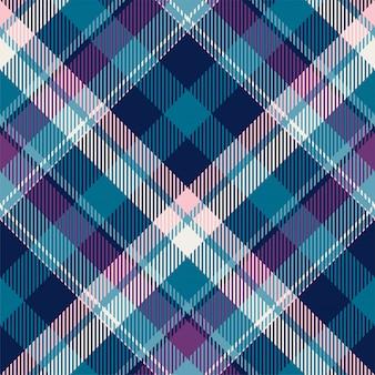 Szkocka krata szkocka krata wzór bezszwowe tło. materiał w stylu retro. vintage wyboru koloru kwadratowa geometryczna tekstura.