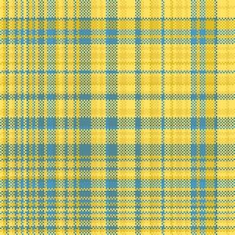 Szkocka krata wzór bez szwu wydrukuj teksturę tkaniny. sprawdź tło.