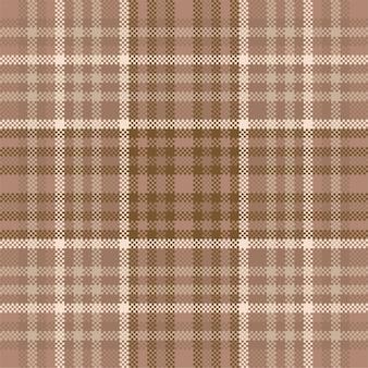 Szkocka krata wzór bez szwu