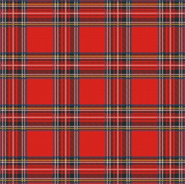 Szkocka krata wzór tła z tekstury tkaniny