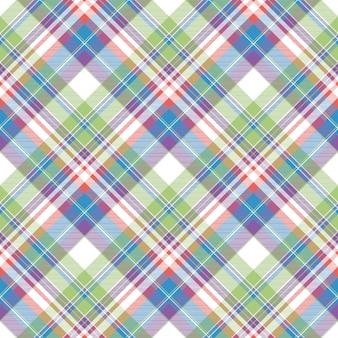 Szkocką kratę kolor tkaniny wzór
