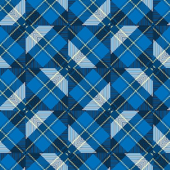 Szkocka tkana tekstura klasyczny wzór w kratę.