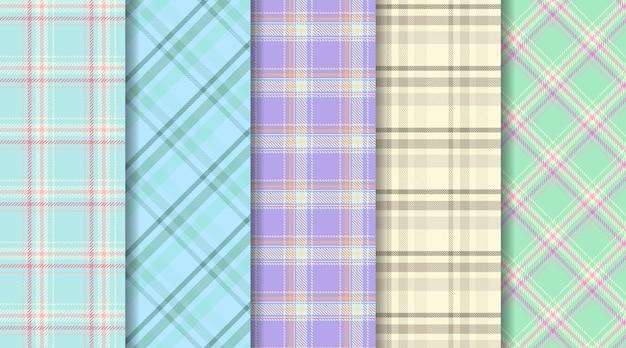 Szkocki wzór kratki w kratę