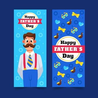 Sztandar dzień ojca