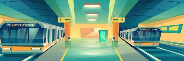 Sztandar metra metra miasta