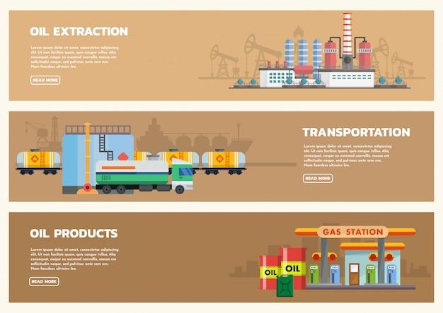 Sztandar przemysłu naftowego